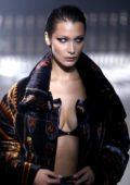 Bella Hadid walks for Kith Park Presentation during New York Fashion Week in New York City