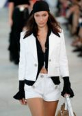 Bella Hadid walks the runway for Michael Kors Spring 2019 Collection during New York Fashion Week in New York City