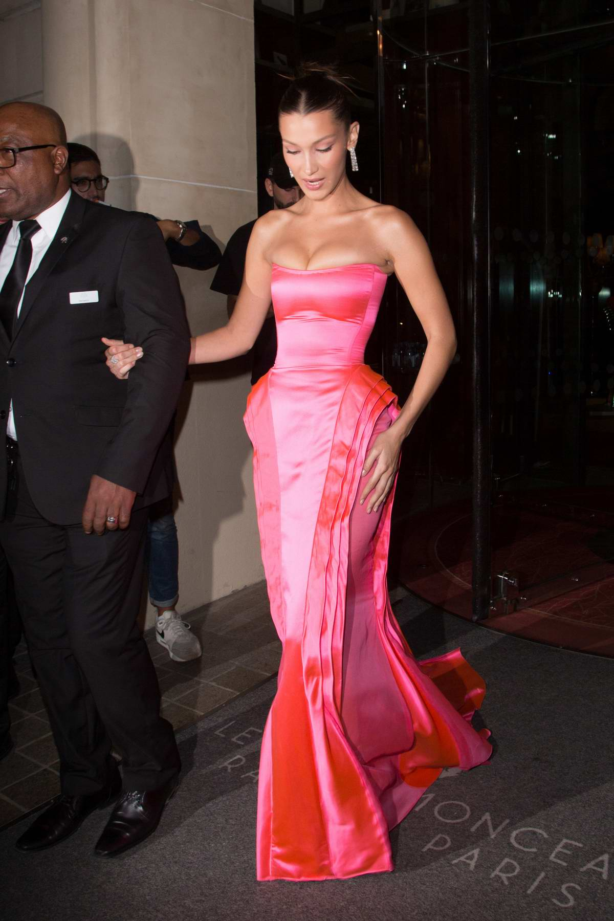 Bella Hadid - Naked Heart France Gala Dinner in Paris 09