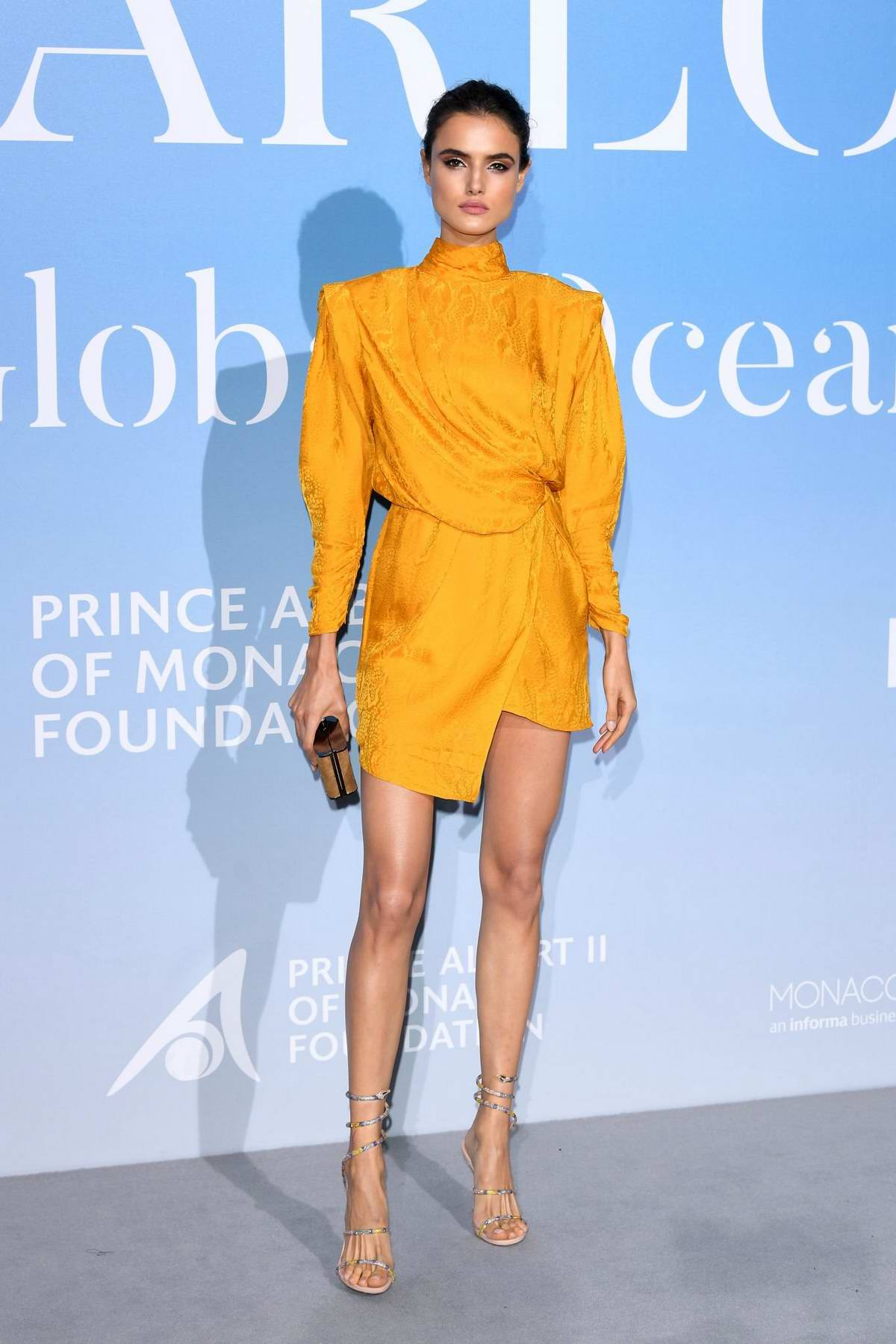 Blanca Padilla attends the Gala For The Global Ocean in Monte Carlo, Monaco