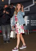 Blanca Suarez arriving at Maria Cristina Hotel during 66th San Sebastian Film Festival in San Sebastian, Spain