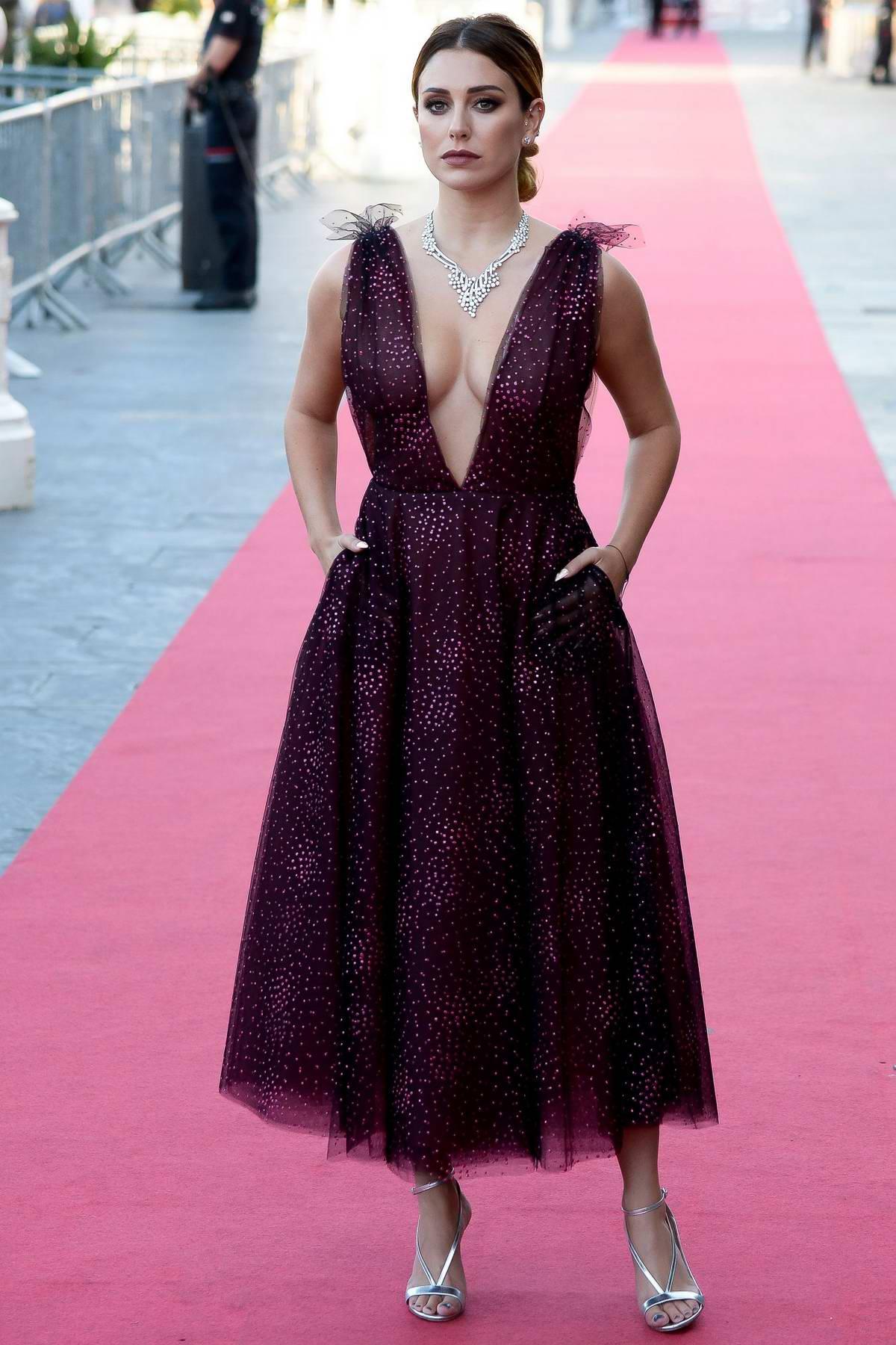 Blanca Suarez attends 'Tiempo Despues' premiere during the 66th San Sebastian International Film Festival in San Sebastian, Spain
