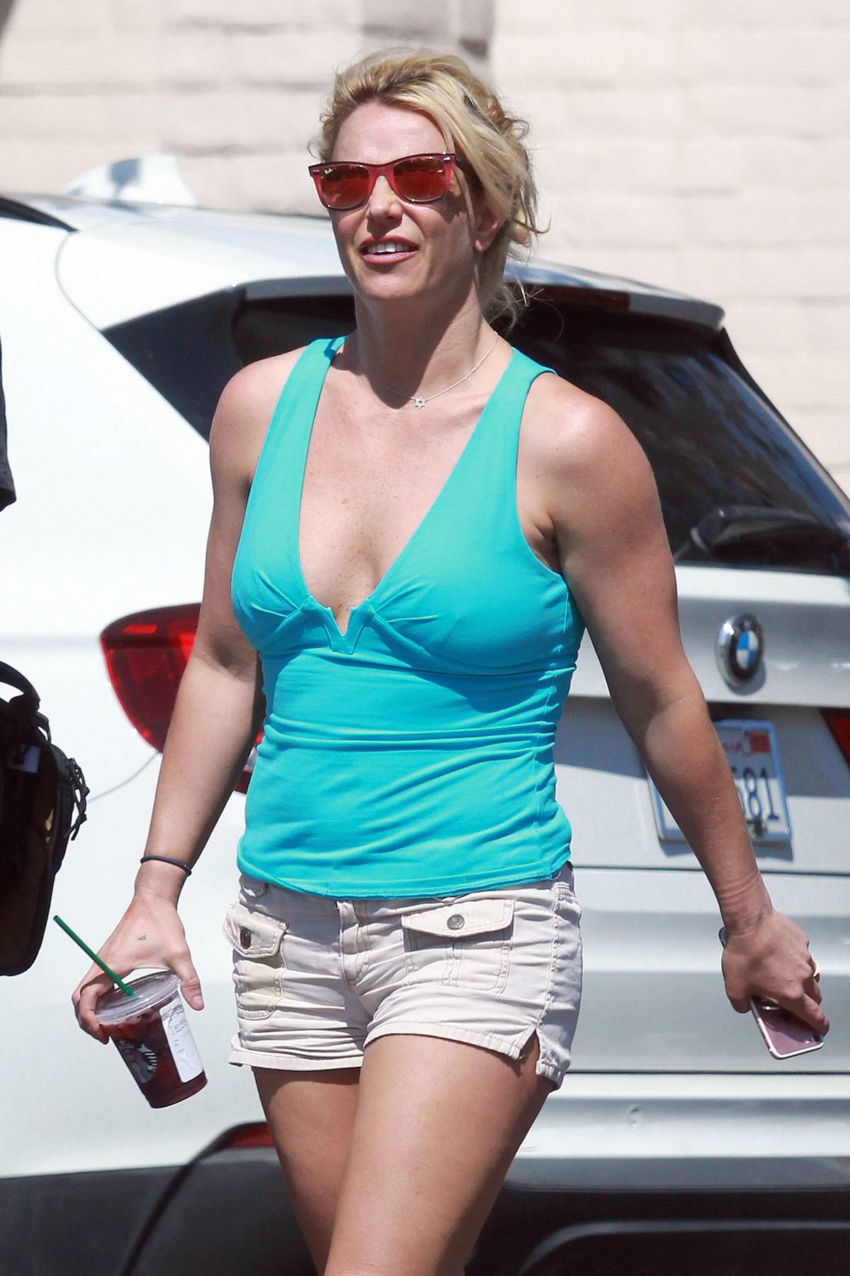 Britney Spears heads to an appointment with her dentist in Los Angeles