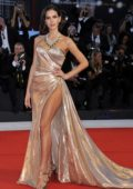 Bruna Marquezine attends 'The Sisters Brothers' premiere during 75th Venice Film Festival in Venice, Italy
