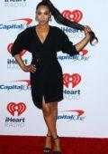 Candice Patton attends iHeartradio Music Festival at T-Mobile Arena in Las Vegas, Nevada