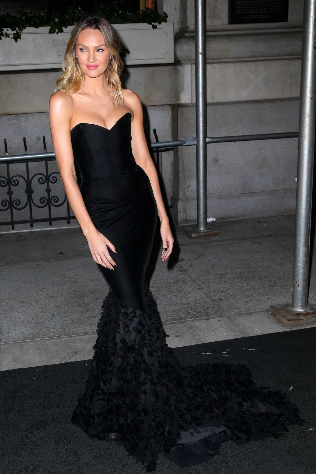Candice Swanepoel attends Harper's Bazaar ICONS party NYFW Spring/Summer 2019 in New York City