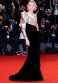 Cate Blanchett attends 'Suspiria' premiere during 75th Venice Film Festival in Venice, Italy