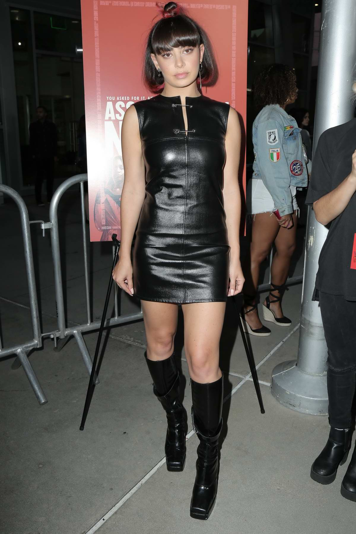 Charli XCX attends 'Assassination Nation' film premiere at ArcLight Hollywood in Hollywood, Los Angeles