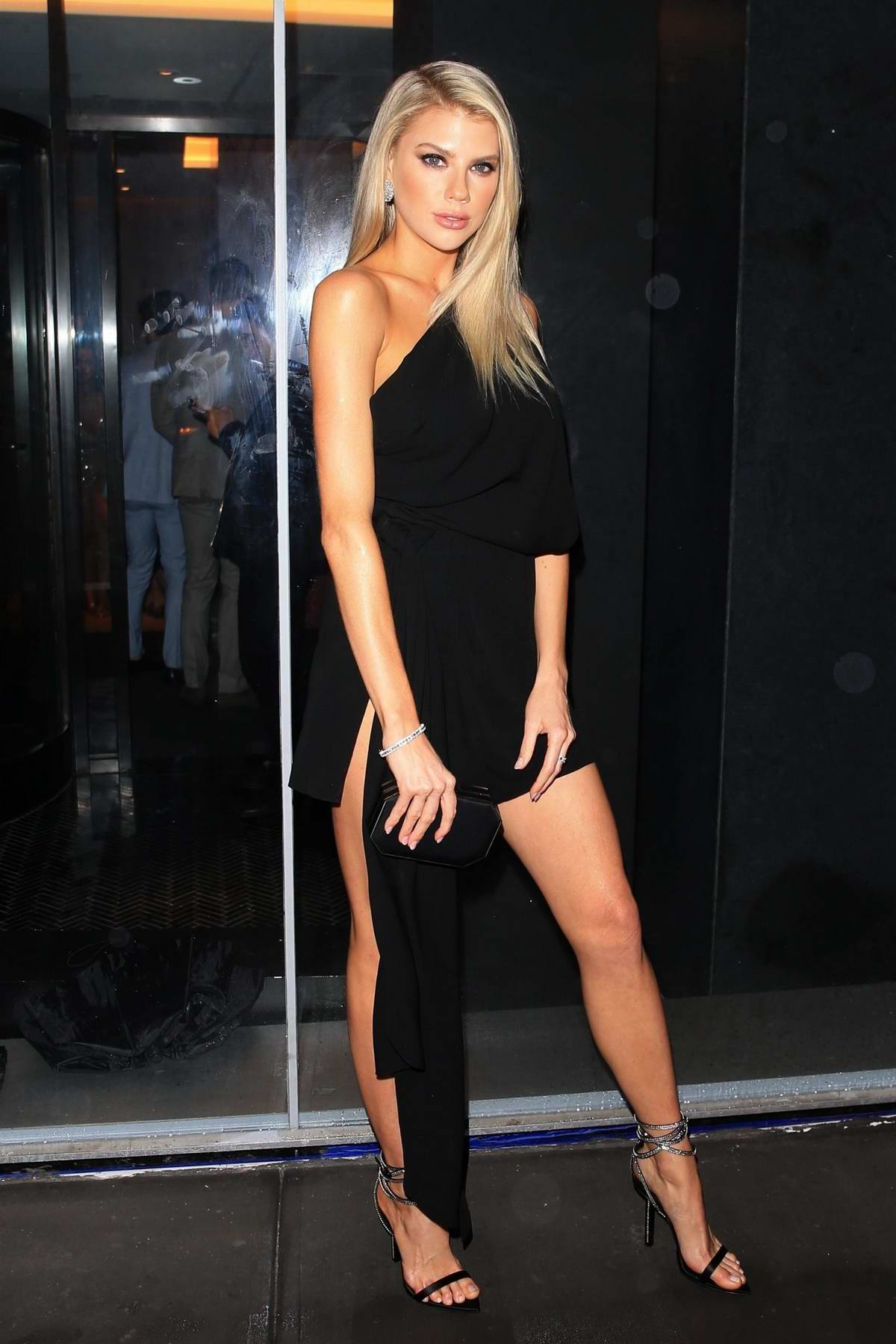Charlotte McKinney attends Vanity Fair and Saks Fifth Avenue celebrate Vanity Fair's Best-Dressed 2018 at Manhatta in New York City