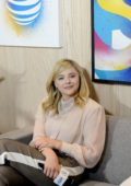 Chloe Grace Moretz at the Variety Studio Presented by AT&T during Toronto International Film Festival (TIFF 2018) in Toronto, Canada