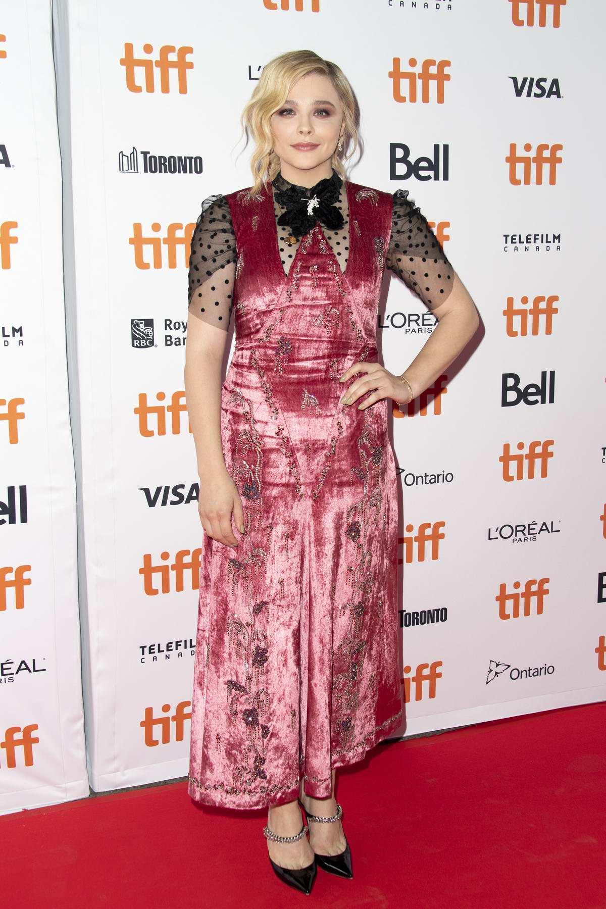 Chloe Grace Moretz attends 'Greta' premiere during the Toronto International Film Festival (TIFF 2018) in Toronto, Canada