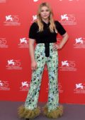 Chloe Grace Moretz attends 'Suspiria' photocall during the 75th Venice International Film Festival in Venice, Italy