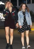 Chloe Grace Moretz spotted leaving The Eagles Concert with a friend in Inglewood, California