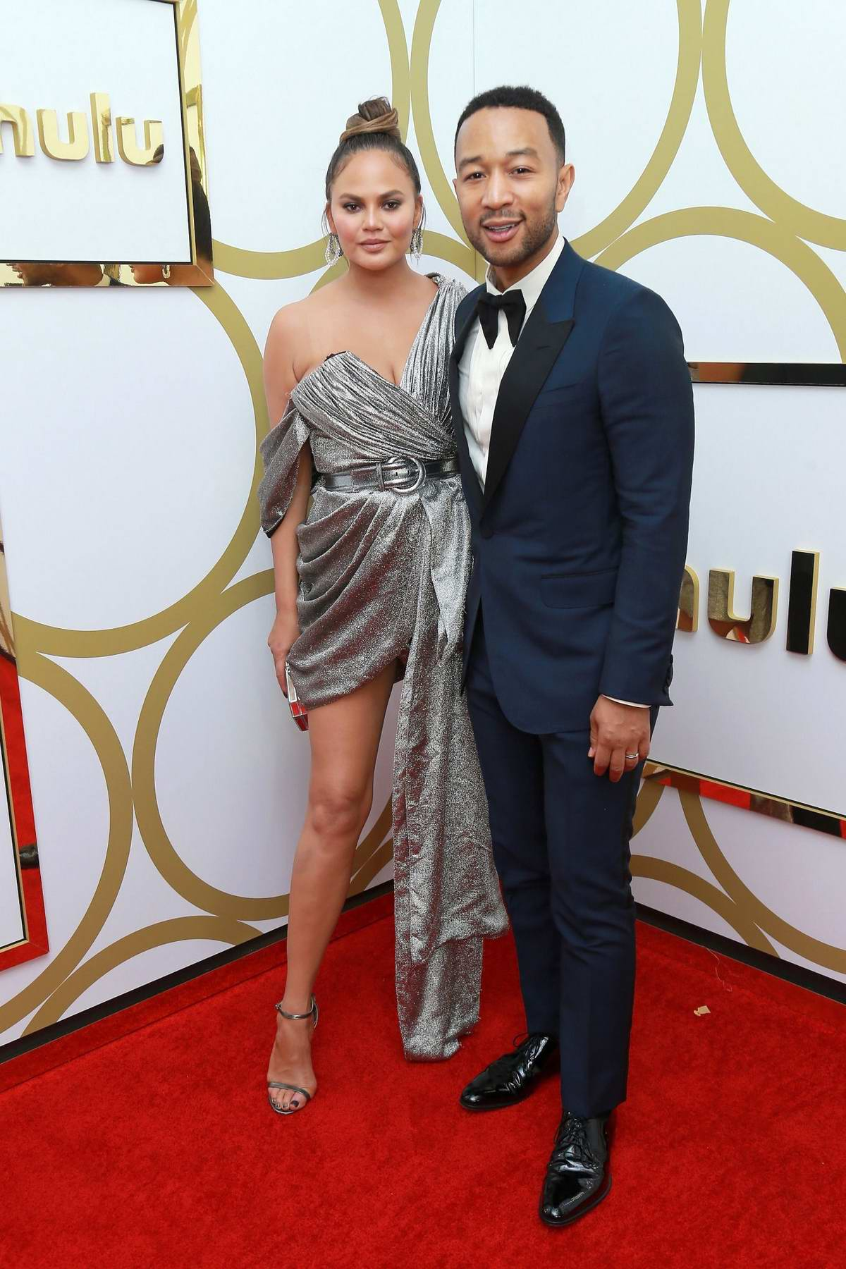 Chrissy Teigen attends Hulu's 2018 EMMY Party at the Nomad Hotel in Los Angeles