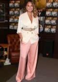 Chrissy Teigen signs and discusses her new book 'Cravings: Hungry For More' at The Grove in Los Angeles