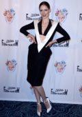 Coco Rocha attends the Fashion Freak Show during Paris Fashion Week in Paris, France