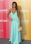 Cristina Buccino attends amfAR Gala at La Permanente in Milan, Italy
