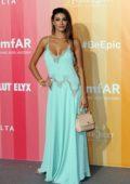 Cristina Buccino attends amfAR Gala at La Permanente in Milan, Italy