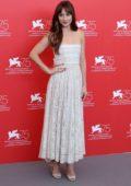 Dakota Johnson attends 'Suspiria' photocall during the 75th Venice International Film Festival in Venice, Italy