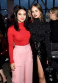 Debby Ryan and Camila Mendes attends Prabal Gurung Show during New York Fashion Week in New York City
