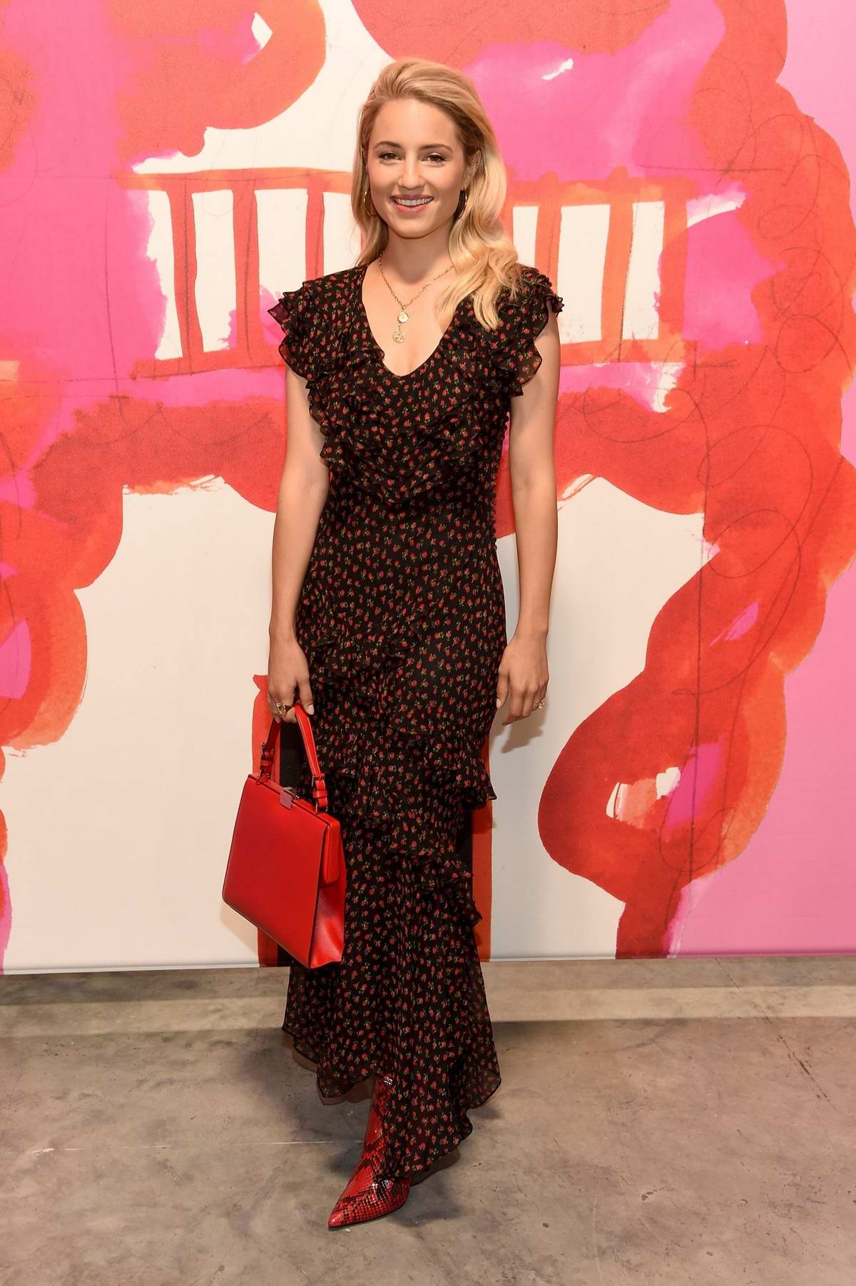 Dianna Agron attends Michael Kors Spring 2019 Collection during New York Fashion Week in New York City