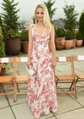 Dianna Agron attends Oscar De La Renta front Row during New York Fashion Week in New York City