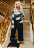 Dove Cameron attends the Tory Burch party in Beverly Hills, Los Angeles