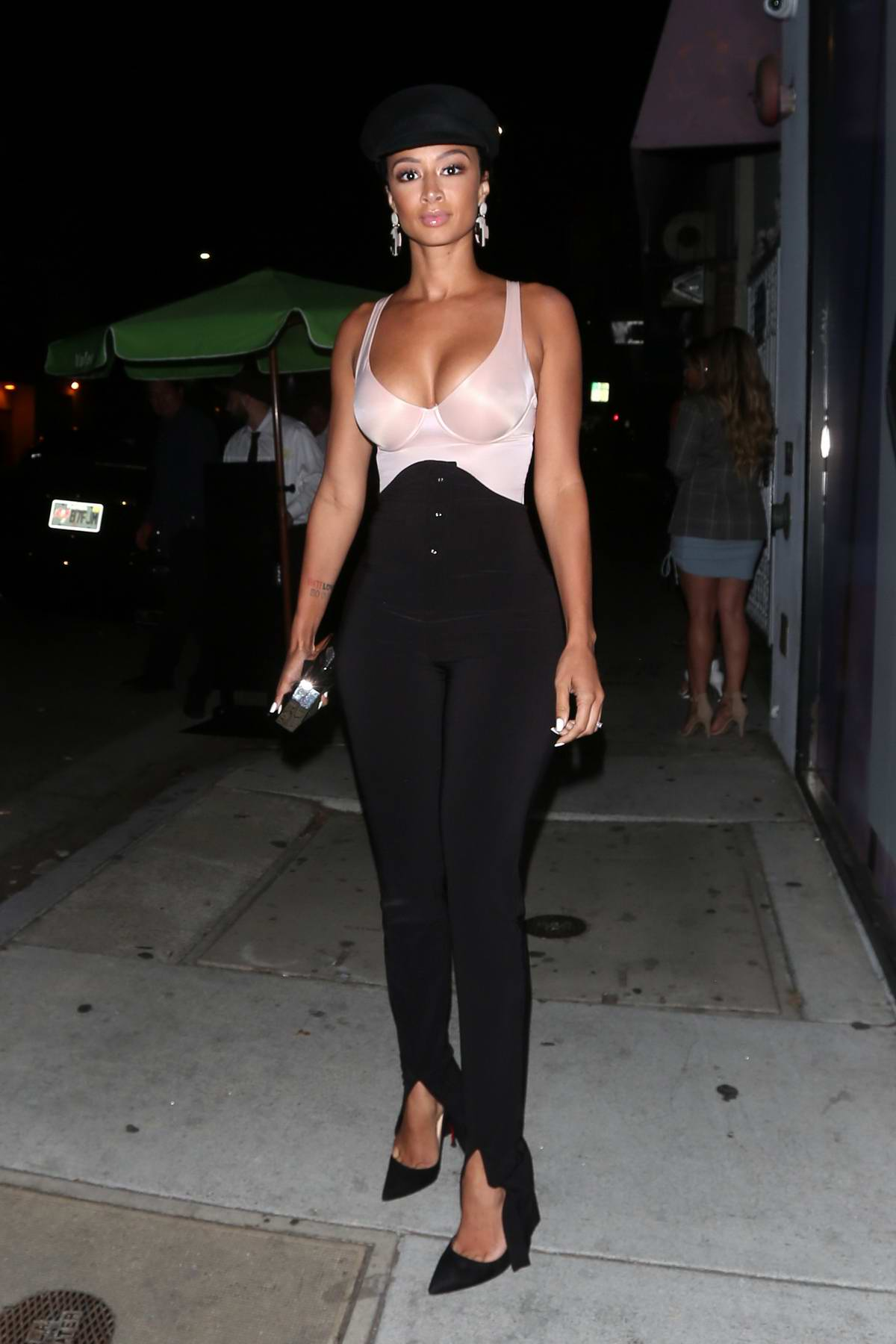 Draya Michele attending the Karl Lagerfeld x Kaia launch event in West Hollywood, Los Angeles