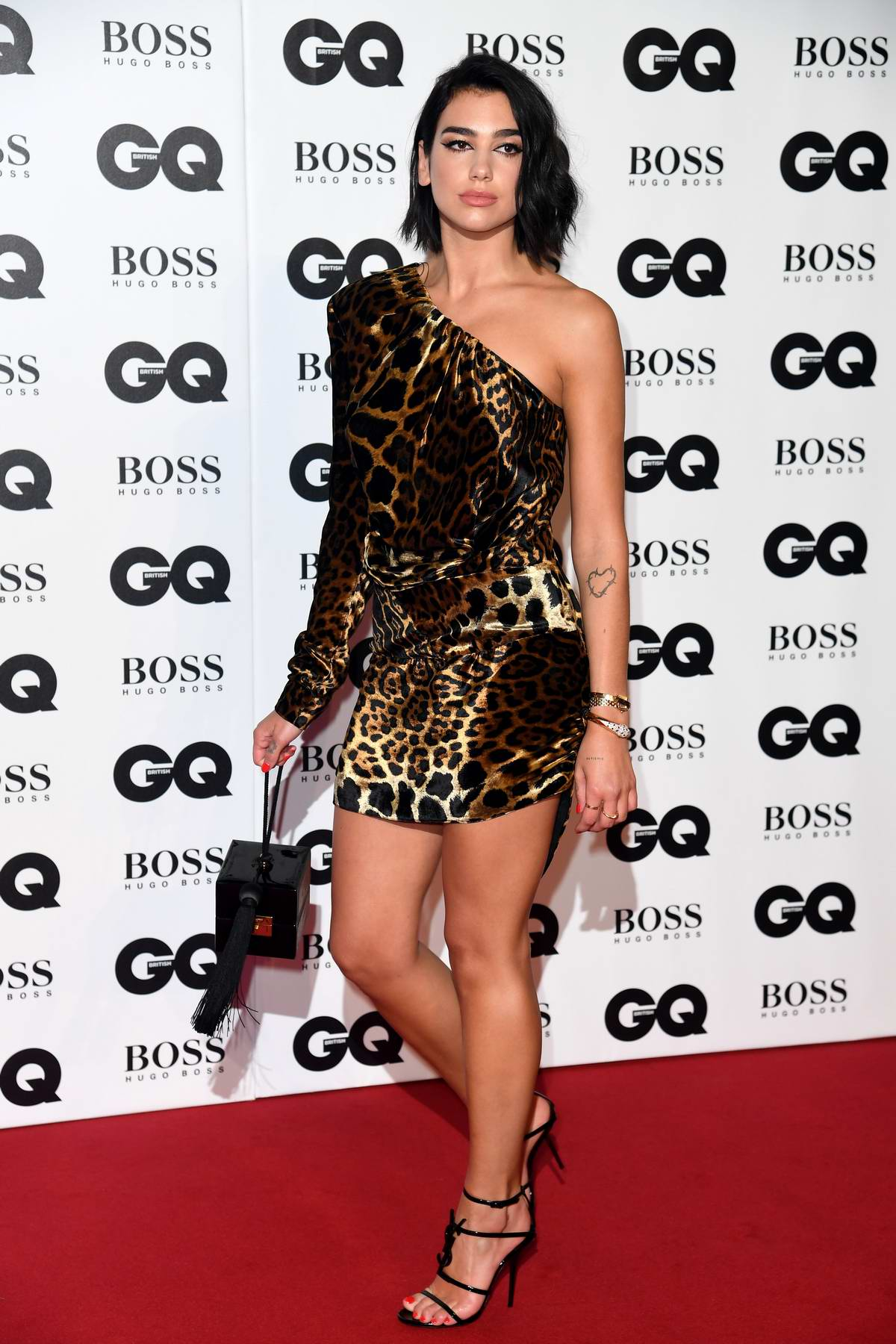 Dua Lipa attending the GQ Men of the Year Awards 2018 at the Tate Modern in London, UK