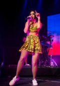 Dua Lipa performs at the Cosmopolitan of Las Vegas Hotel in Las Vegas, Nevada