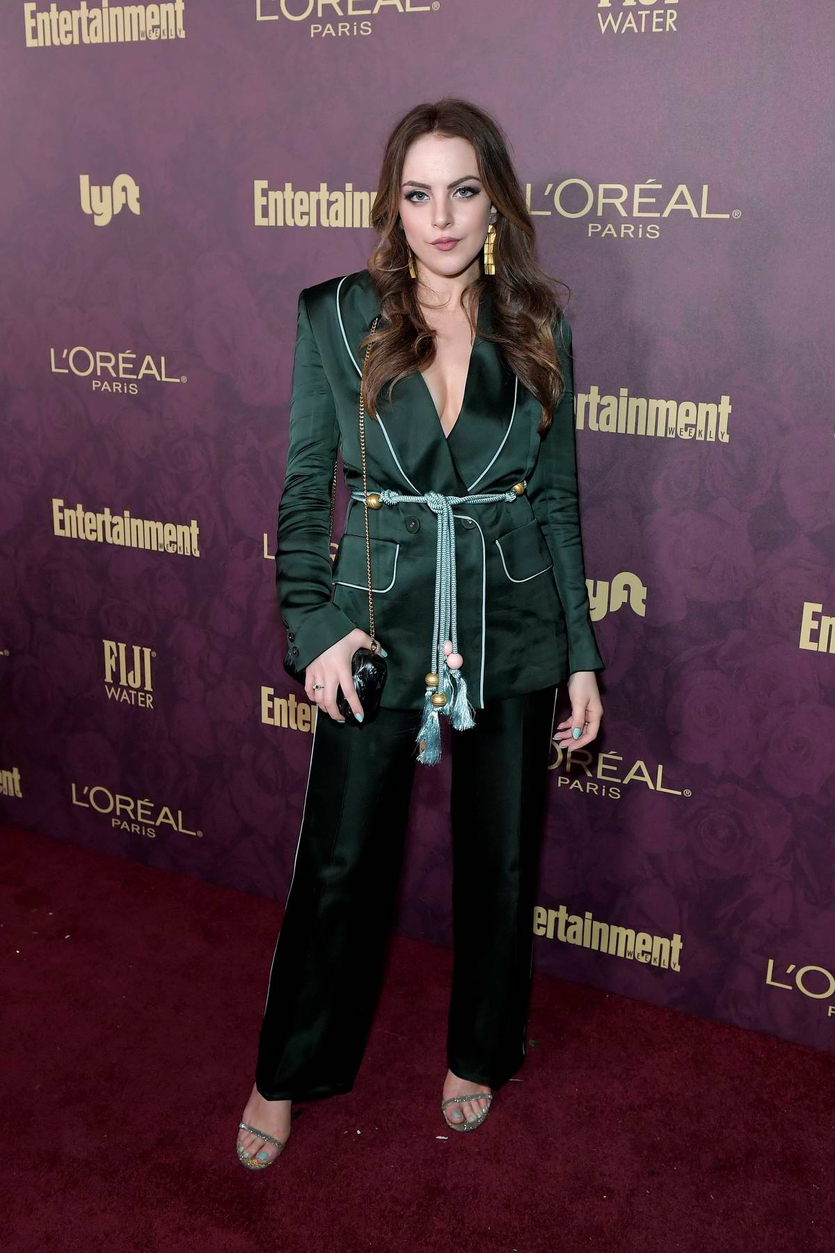 Elizabeth Gillies attends Entertainment Weekly and L'Oreal Paris Pre-Emmy party in Los Angeles