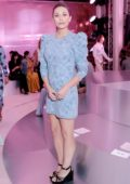 Elizabeth Olsen attends Kate Spade Spring/Summer 2019 show during New York Fashion Week in New York City