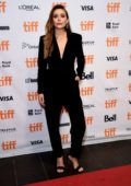 Elizabeth Olsen attends 'Sorry For Your Loss' premiere during the Toronto International Film Festival in Toronto, Canada