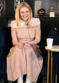 Elle Fanning at the RBC and Nespresso Host Coffee with Creators for the film 'Teen Spirit' during Toronto International Film Festival (TIFF 2018) in Toronto, Canada