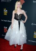 Elle Fanning attends the West Coast Premiere of 'Galveston' during LA Film Festival at Arclight Cinemas in Culver City, California