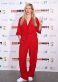 Ellie Goulding attends photocall for Rockcorps 2018 at Makuhari Messe in Chiba, Japan