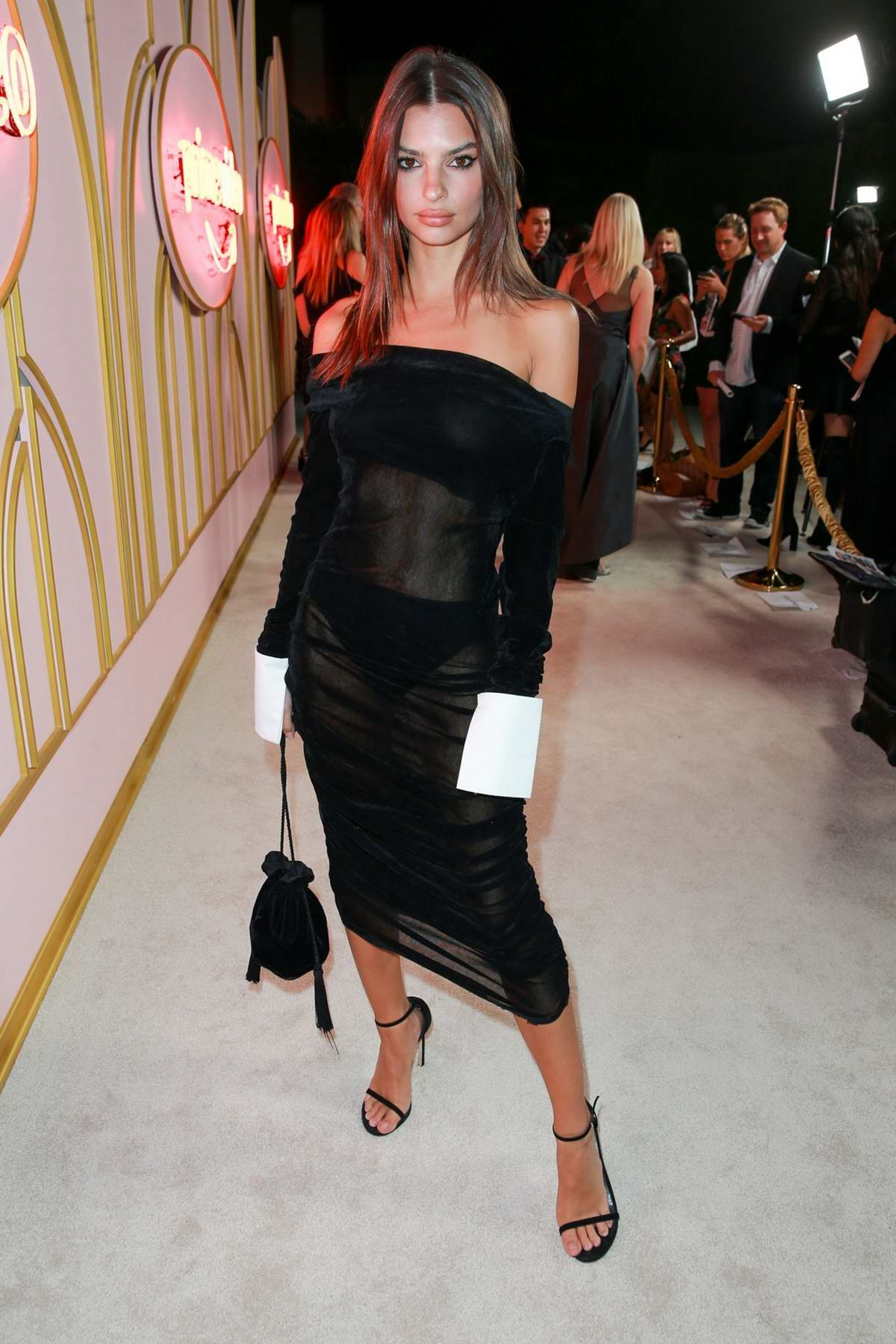 Emily Ratajkowski at the Amazon Prime Video Emmy Awards Party 2018 in West Hollywood, Los Angeles