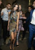 Emily Ratajkowski at the Versace after-party during Milan Fashion Week in Milan, Italy