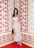 Emily Ratajkowski attends CFDA Vogue Fashion Fund 'Americans in Paris Cocktail' in Paris, France