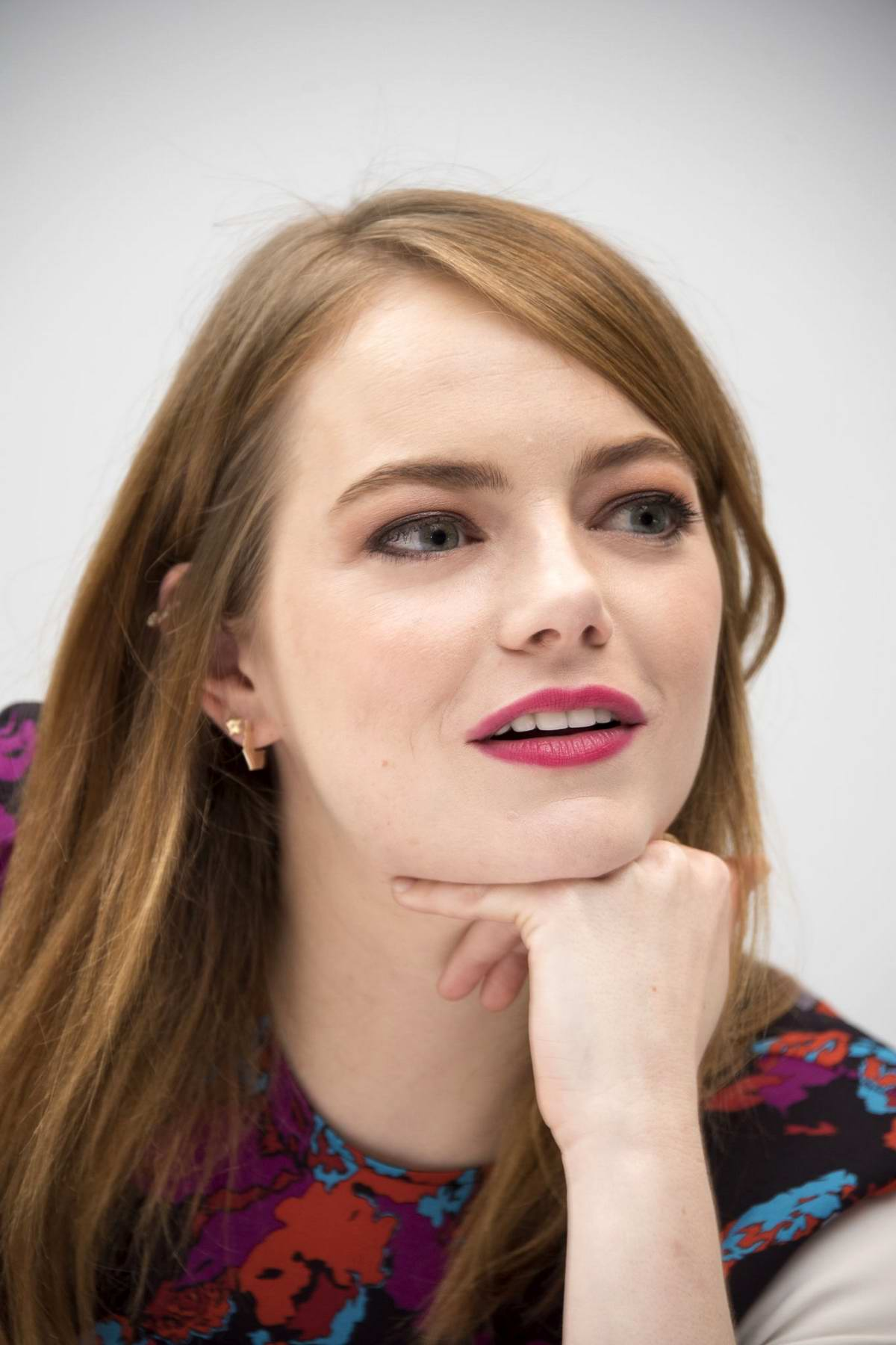 Emma Stone Attends 'Maniac' Press Conference At The Andaz