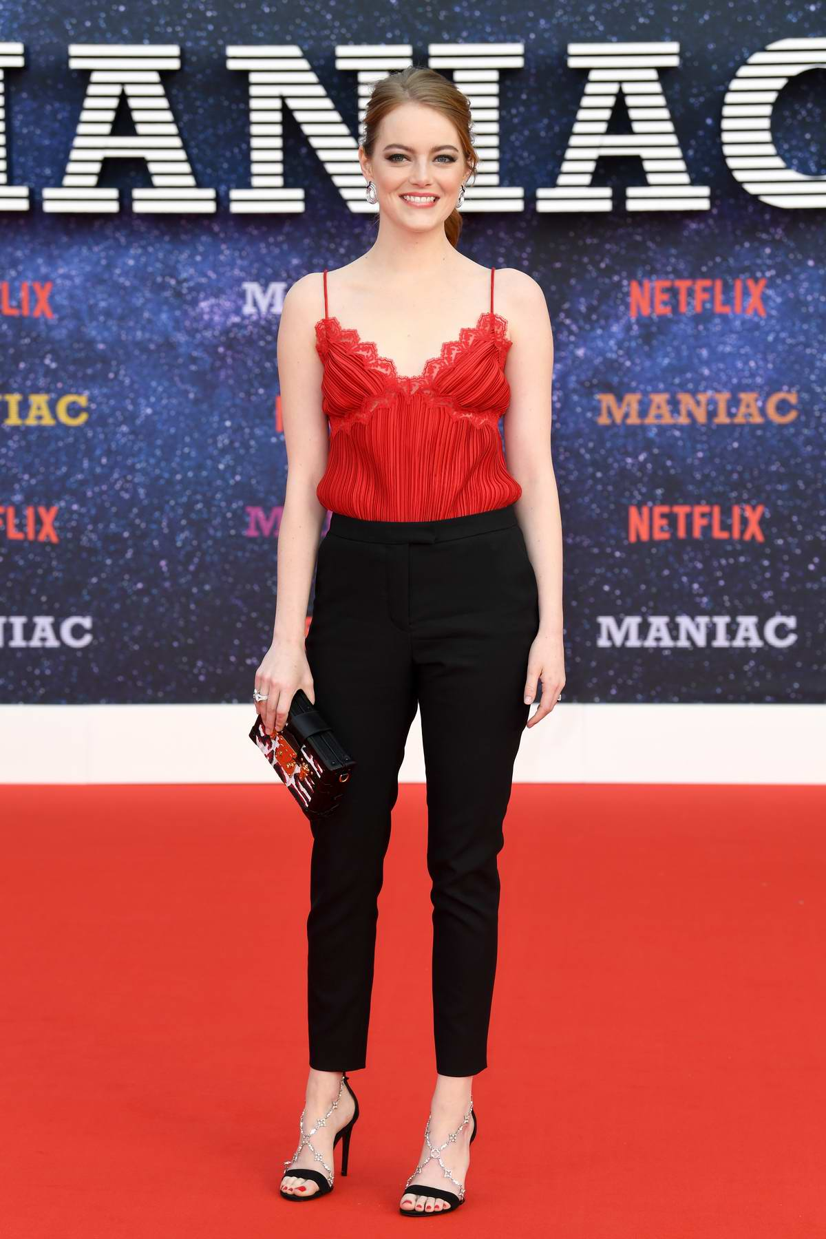 Emma Stone attends 'Maniac' World Premiere at Southbank Centre in London, UK