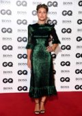Emma Willis attending the GQ Men of the Year Awards 2018 at the Tate Modern in London, UK