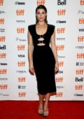 Gemma Arterton attends 'Vita & Virginia' Premiere during Toronto International Film Festival (TIFF 2018) in Toronto, Canada