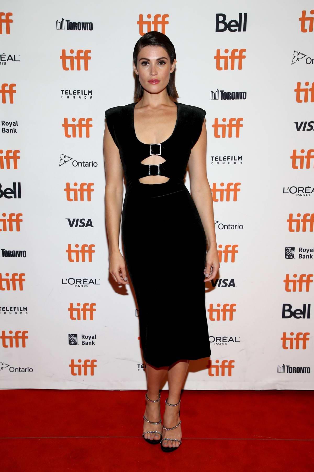 Gemma Arterton attends 'Vita & Virginia' Premiere during Toronto International Film Festival (TIFF 2018) in Toronto, Canada