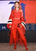 Gigi Hadid attends Tommy Hilfiger x Lewis Hamilton Launch Party during New York Fashion Week in New York City