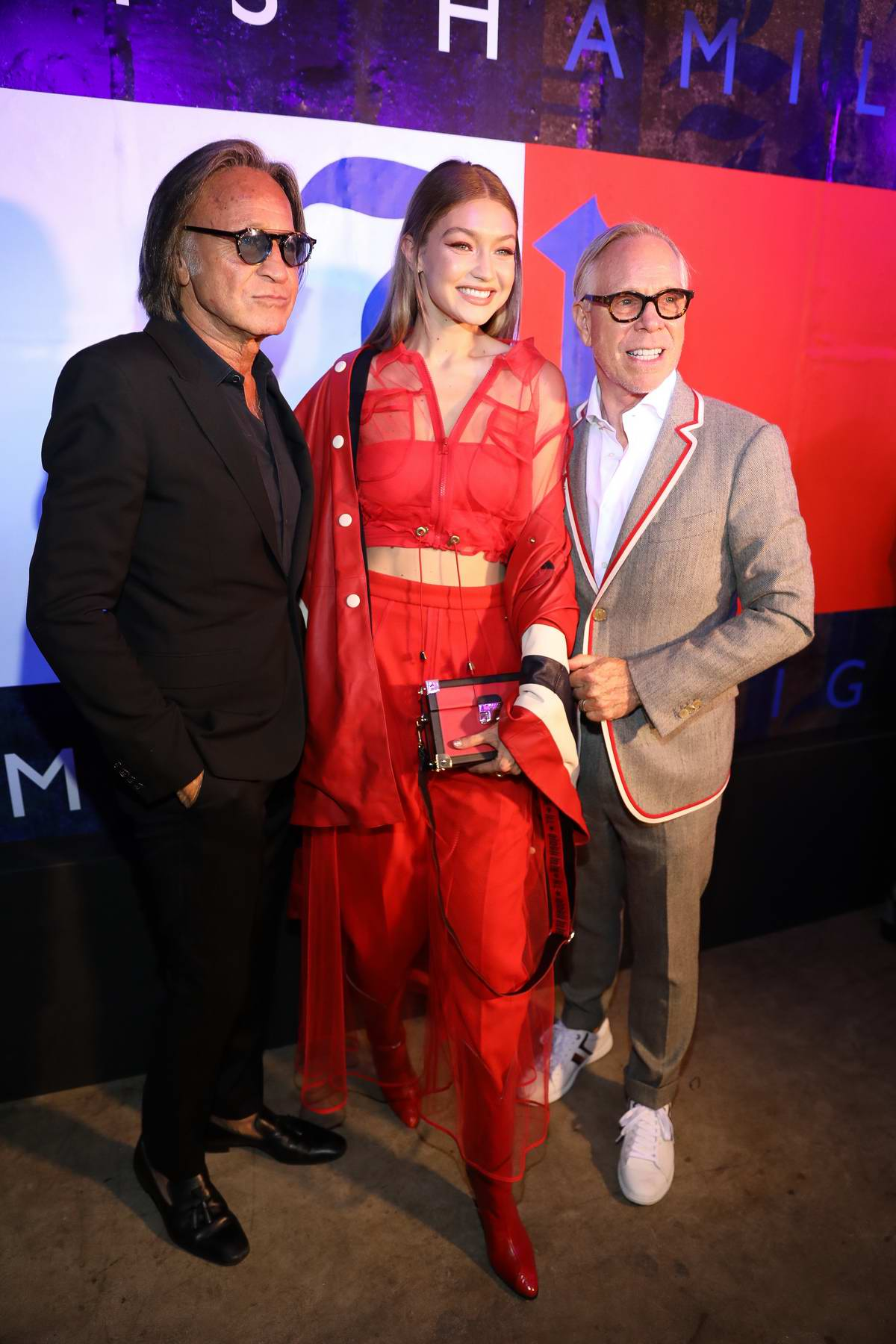 6b0e36b4607 gigi hadid attends tommy hilfiger x lewis hamilton launch party ...