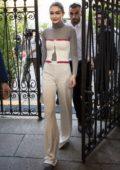 Gigi Hadid leaves the Tod's Fashion Show, SS19 during Milan Fashion Week in Milan, Italy