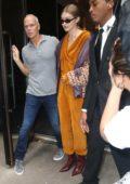 Gigi Hadid Makes a visits to Zayn Malik after the Oscar de la Renta Fashion Show in New York City