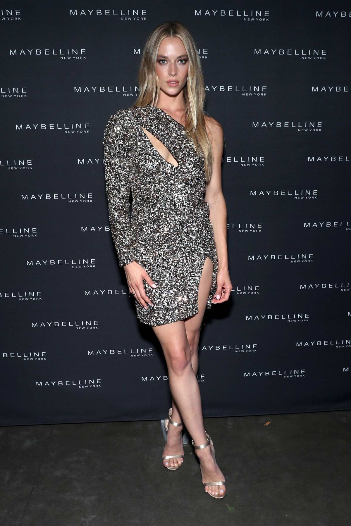 Hannah Ferguson at the Maybelline x New York Fashion Week XIX Party in New York City