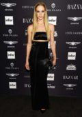 Hannah Ferguson attends Harper's Bazaar ICONS party NYFW Spring/Summer 2019 in New York City